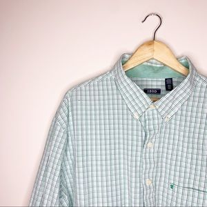 IZod Button Down Shirt 3XLT Big and Tall